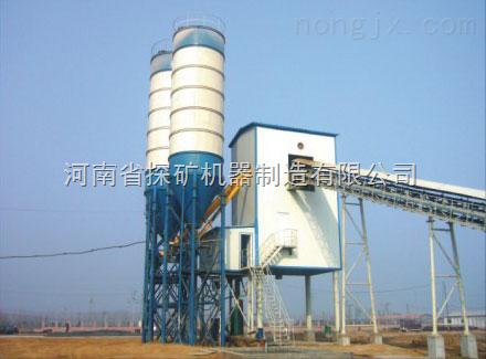 HZS50混凝土搅拌站机器