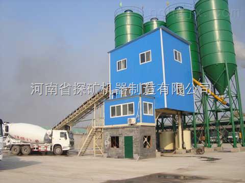 HZS90混凝土搅拌站机器