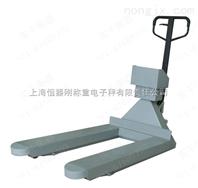 2T电子地牛秤▕2000公斤手动叉车秤
