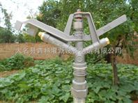青科农田喷灌设备/节水灌溉360度旋转摇臂铝合金喷头