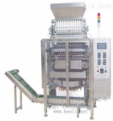 PL-4506KB-边封背封咖啡食盐干燥剂包装机多列机