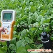 土壤水分测定仪现场测试土壤水分
