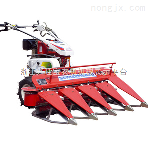 奇瑞收割机,山东华兴供应1000台小型手扶收割机