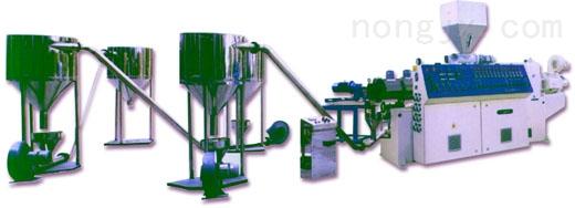 厂家直销,品质保证 单阶三合一塑料回收挤出造粒机
