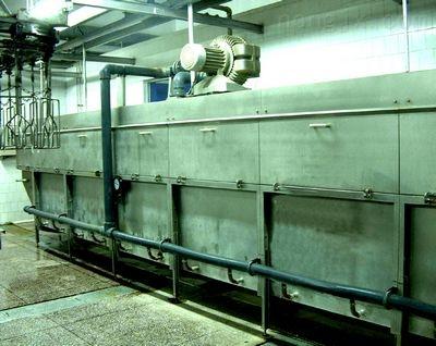 毛猪自动运河式浸烫机
