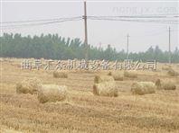 自动捡拾捆草机,四轮后悬挂麦秆打捆机