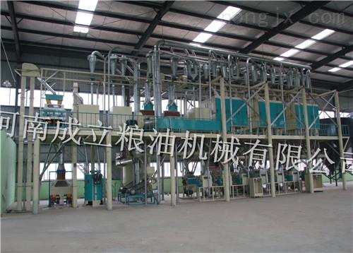 河南成立钢架式成套面粉加工设备