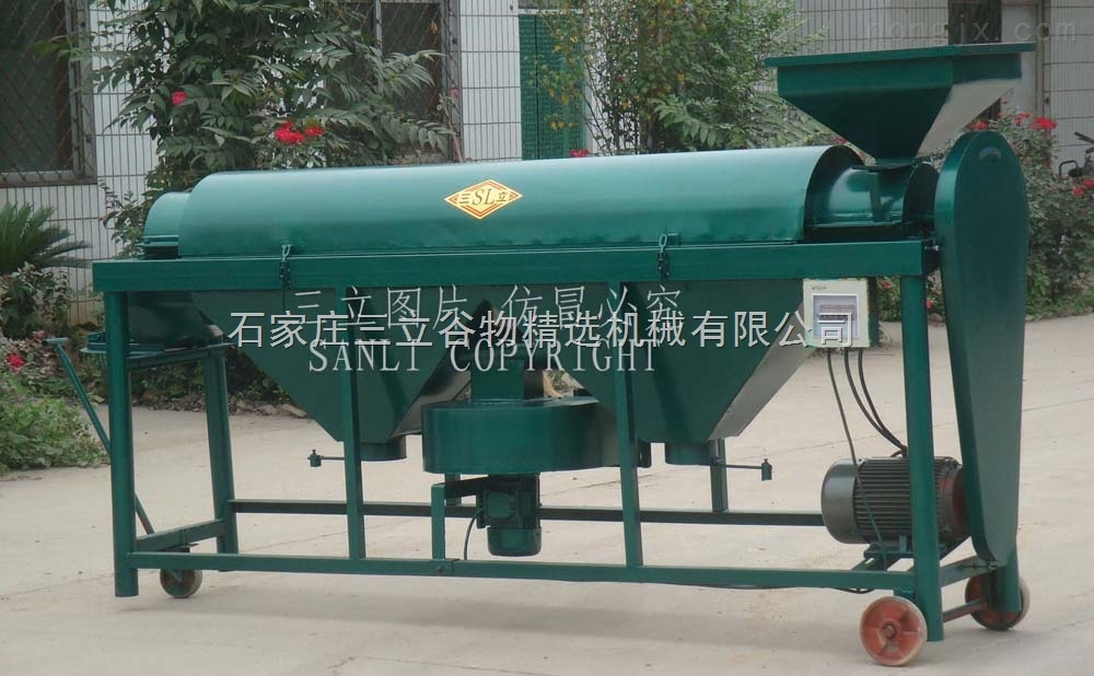 豆类抛光机械