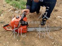 泥土大球径的起球机 单人车载快速挖树机