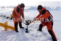 冬季冰面钓鱼挖坑机 冰面打洞机厂家