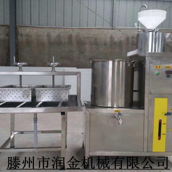 山东厂家供应家庭作坊豆制品加工设备 商用蒸气加热煮浆机