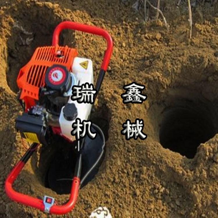 山东种树挖坑机 小型打桩机价格