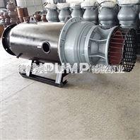 斜拉式潜水轴流泵_型号齐全_德能泵业