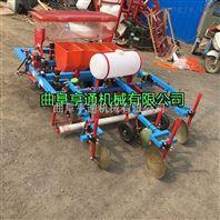 红薯起垄施肥机 四轮带包装覆膜机
