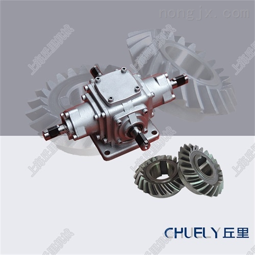 T2鋁殼換向器T2直角減速機T2十字轉向箱