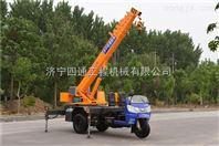 油电两用微吊生产厂家专业供应 3吨三轮吊车