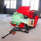 DK5552广西玉米秸秆青贮打捆机 青贮打捆机厂家