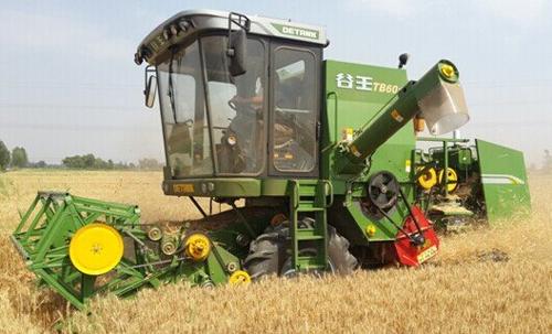 奇瑞 谷王 tb60小麦联合收割机 高清图片